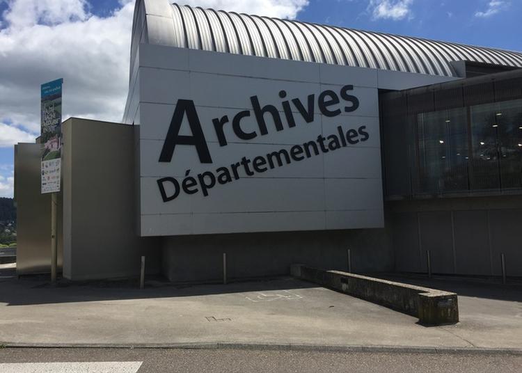 Visite Commentée Du Bâtiment Des Archives à Vesoul