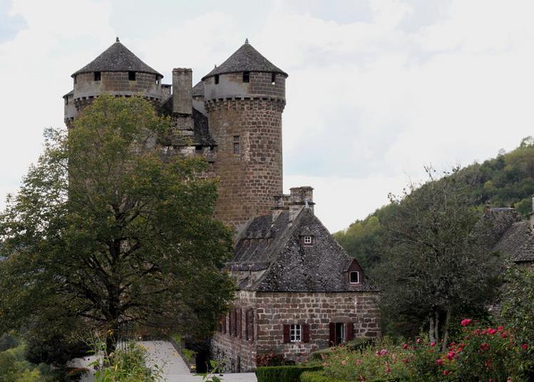 Visite Commentée Du Château D'anjony. à Tournemire