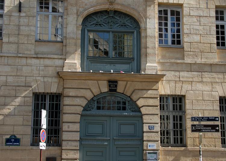 Visite Commentée Du Collège Des Écossais à Paris 5ème
