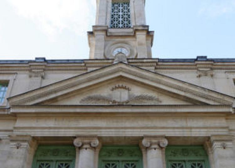 Visite Commentée Du Temple Protestant Du Saint-esprit Et De La Chapelle Attenante à Paris 8ème