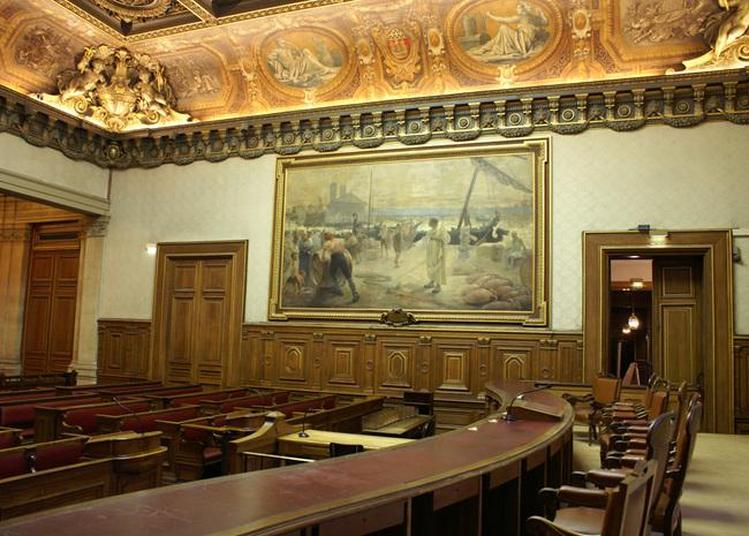 Visite Commentée Du Tribunal De Commerce De Paris Par Des Juges Conférenciers à Paris 4ème