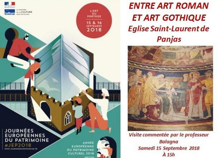 Visite Commentée  Entre Art Roman Et Art Gothique à Panjas