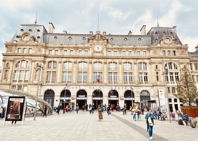 Visite Commentée Et Guidée De La Gare Saint-lazare à Paris 8ème