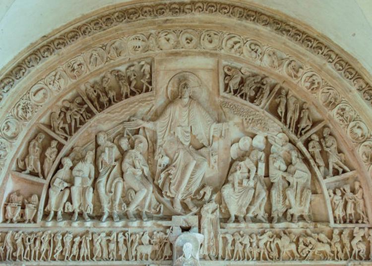 Visite Commentée Exceptionnelle Du Grand Tympan Du Xiième Siècle De La Basilique De Vézelay à Vezelay