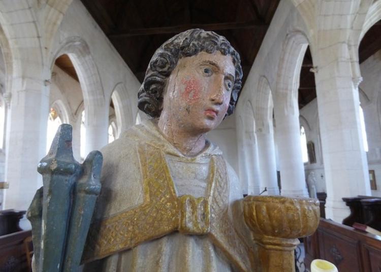 Visite Commentée Inauguration Officielle De L'installation Des Statuettes En Bois Polychromé à Fontaine sur Somme