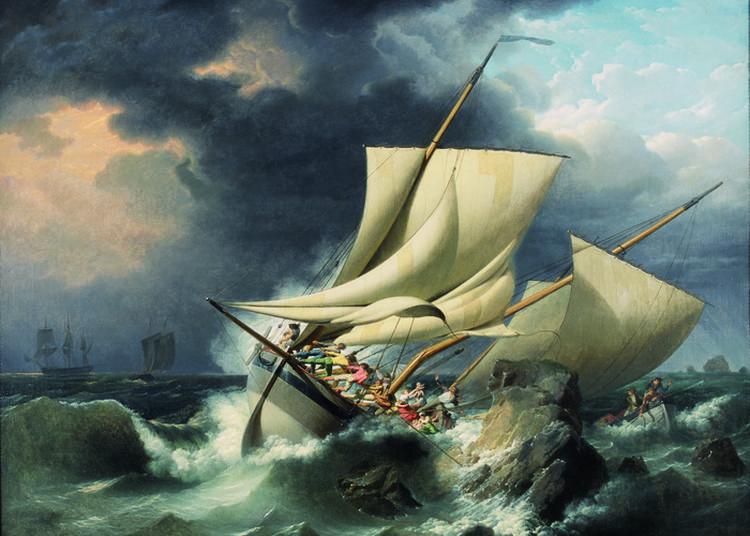 Visite Couplée Les Peintres De La Mer à Brest