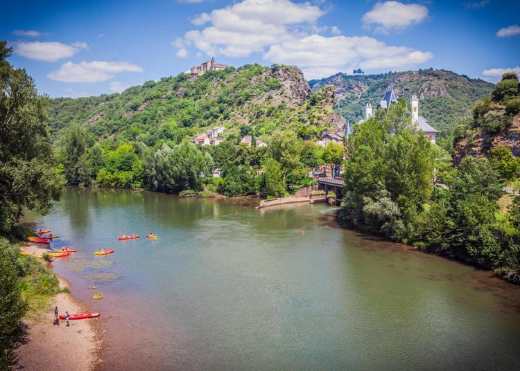 Visite d'Ambialet : Cité de roc et d'eau
