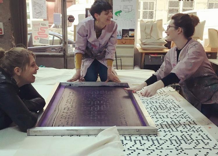 Visite D'un Atelier De Sérigraphie Artisanale à Lyon