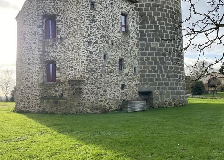 Visite D'un Château En Rénovation Du XVe Siècle ! à Montravers