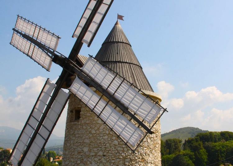 Visite D'un Moulin En Fonction à Allauch