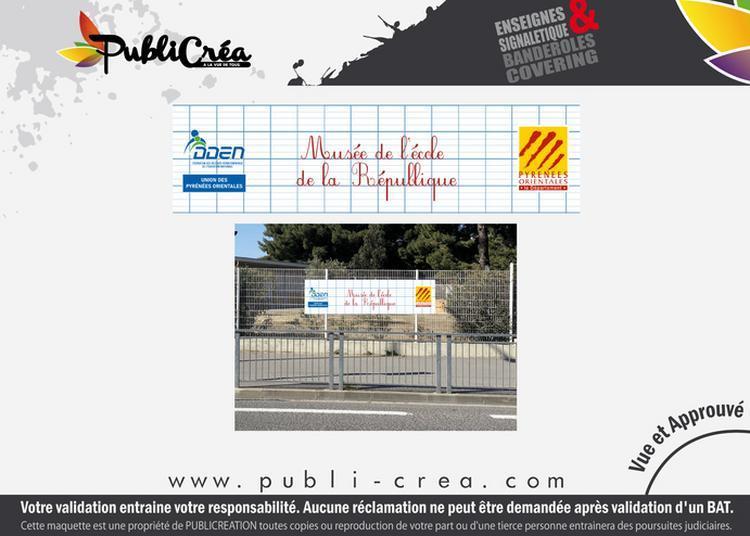 Visite D'un Musée D'école Des Années 50 ! à Perpignan