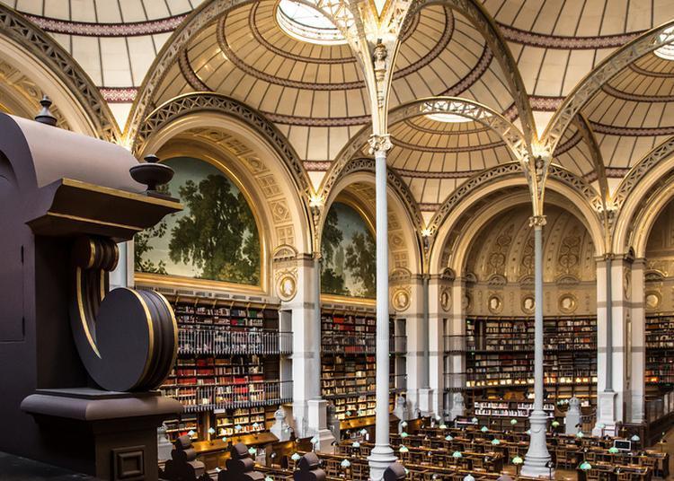 Visite D'un Site Patrimonial De L'inha : La Salle Labrouste à Paris 2ème
