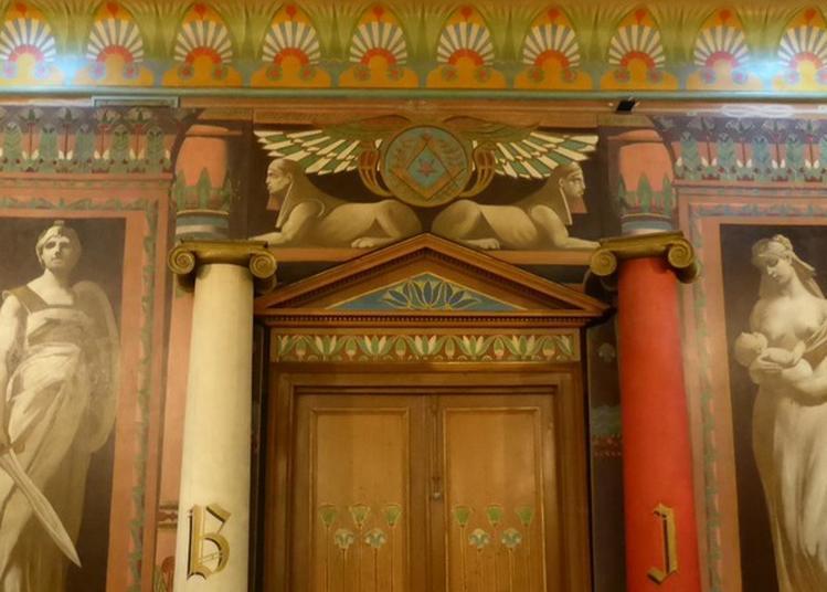 Visite D'un Temple Maçonnique Au Décor Intérieur Classé Monuments Historiques à Nancy