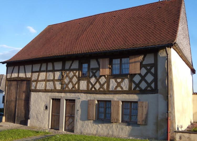 Visite D'une Maison Lorraine De 1716 à Hellimer