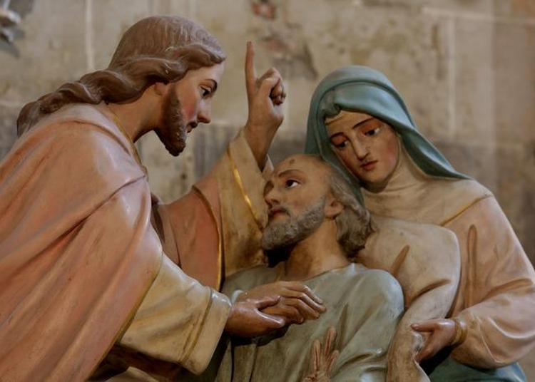 Visite De L'abbatiale à Sorde l'Abbaye