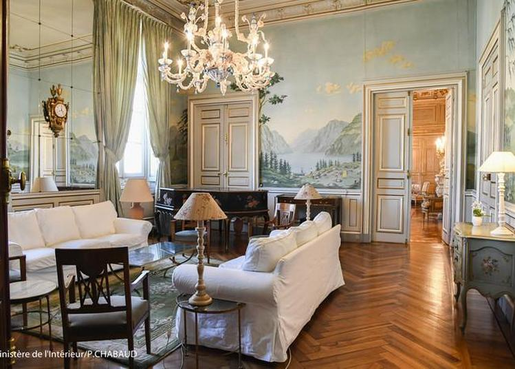 Visite De L'appartement D'honneur De La Préfecture à Grenoble