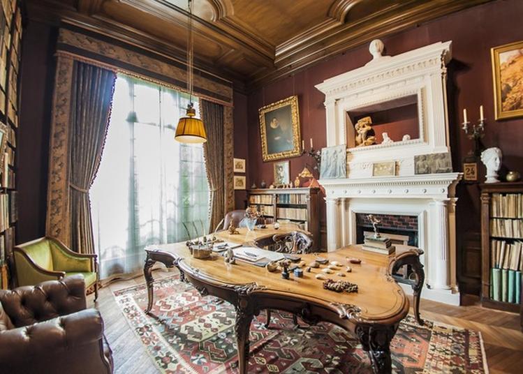 Visite De L'appartement De Clemenceau Et De La Galerie à Paris