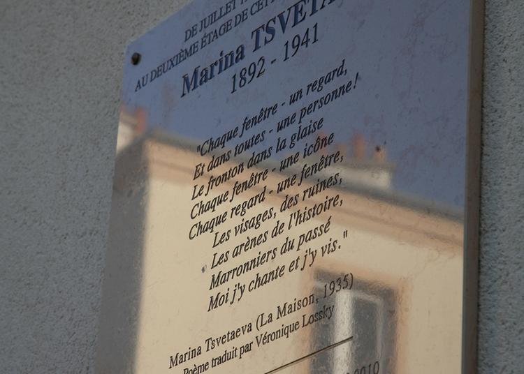 Visite De L'appartement Où A Vécu Marina Tsvetaeva À Vanves De 1934 À 1938