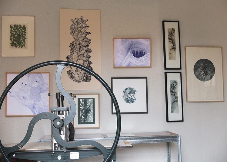 Visite De L'atelier De Gravure Hélène Roux à Metz