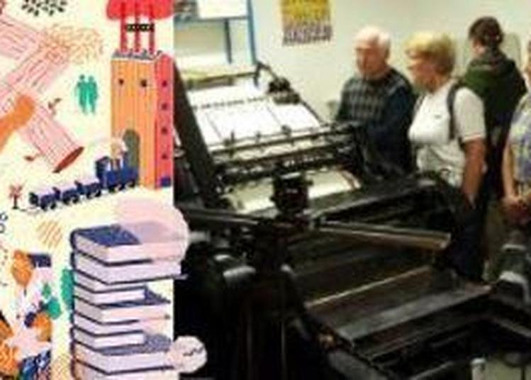 Visite De L'atelier De Typographie Æncrages & Co à Baume les Dames