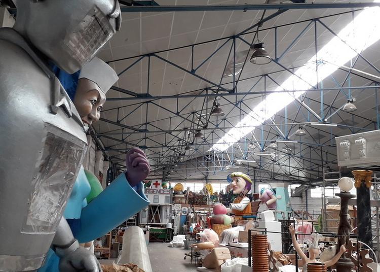 Visite De L'atelier Du Carnaval De Nantes