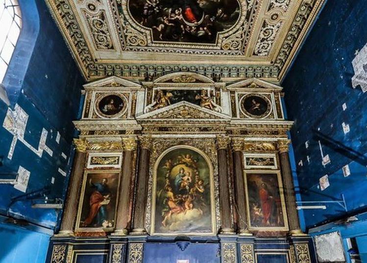 Visite De L'eglise Des Ortolans à Avignon