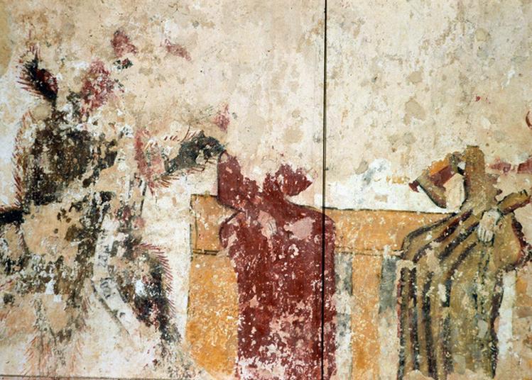 Visite De L'église : Les Travaux De Restauration Et De Conservation De L'église Et Des Peintures Murales D'asnières-sur-vègre à Asnieres sur Vegre