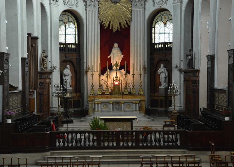 Visite De L'église Notre-dame Des Blancs-manteaux à Paris 4ème