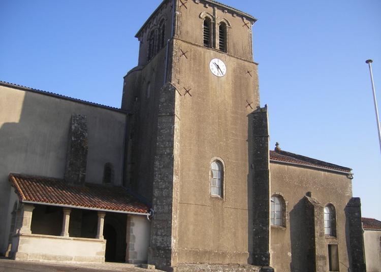 Visite De L'église Saint-hilaire à Azay sur Thouet