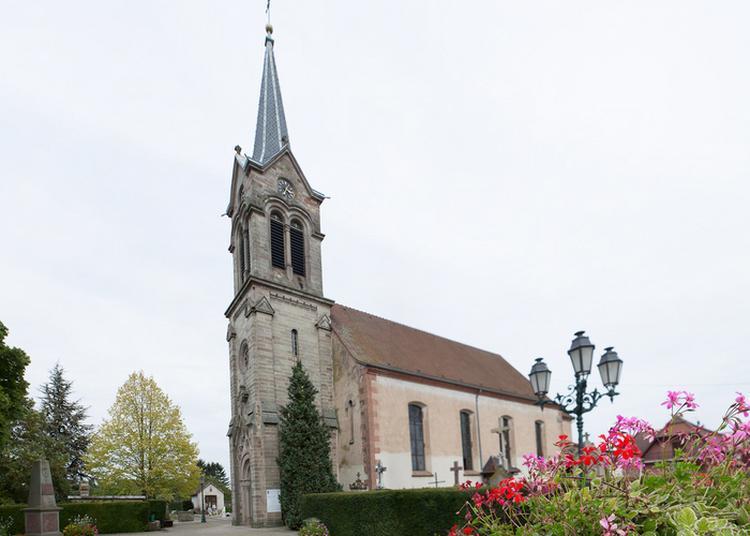 Visite De L'église Saint-jean-baptiste à Saasenheim