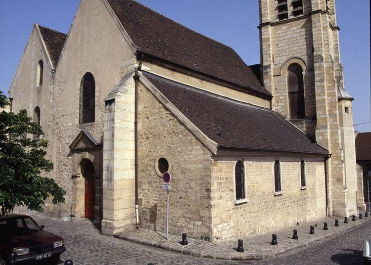 Visite De L'église Saint-pierre Saint-paul à Courbevoie