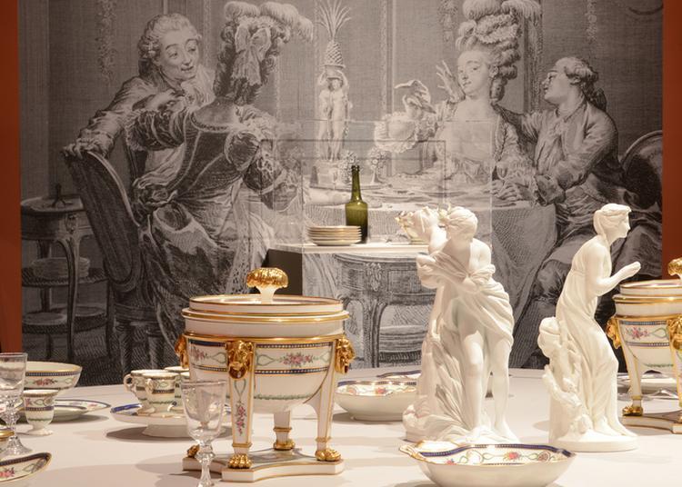 Visite De L'exposition À Table ! Le Repas, Tout Un Art à Sevres