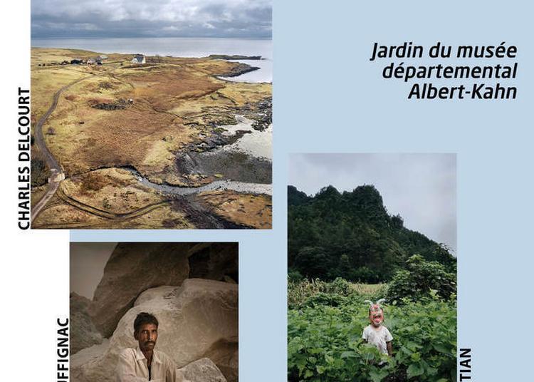 Visite De L'exposition Des Lauréats Des Rencontres Photographiques à Boulogne Billancourt