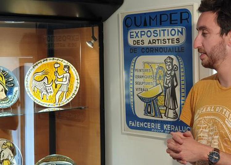 Visite De L'exposition Temporaire : Keraluc, Une Faïencerie Au Service Des Artistes à Quimper