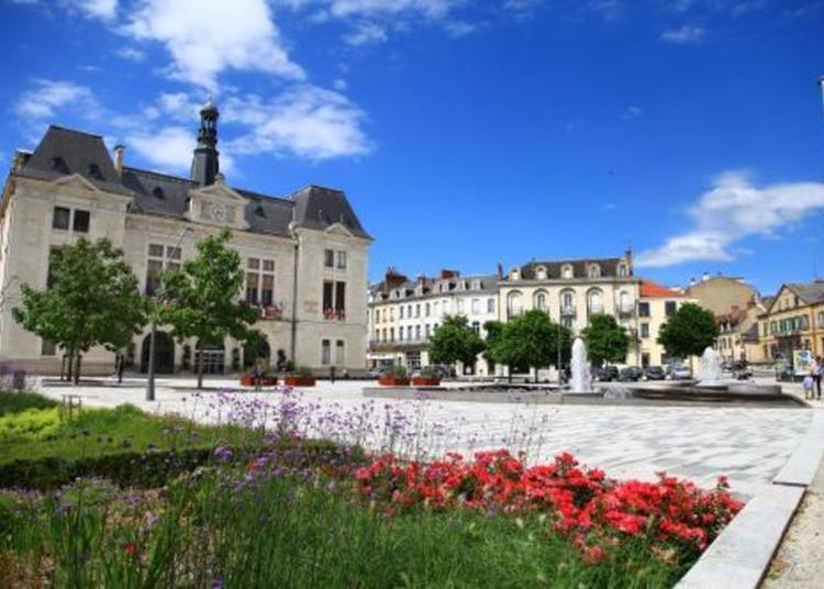 Visite De L'hôtel De Ville De Montluçon à Montlucon