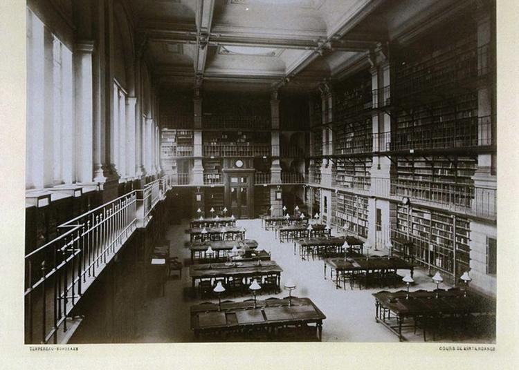 Visite De La Bibliothèque De L'ancien Palais Des Facultés De Bordeaux