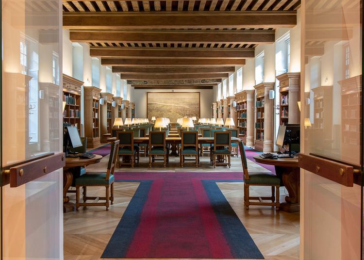 Visite De La Bibliothèque Historique Et De L'hôtel Lamoignon à Paris 4ème