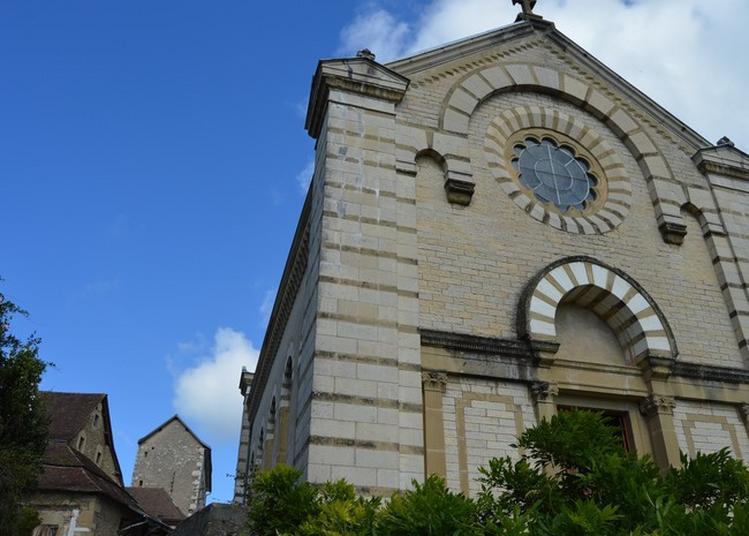 Visite De La Chapelle De L'alumnat Et De L'exposition C'était Mieux Avant (?) à Miribel les Echelles