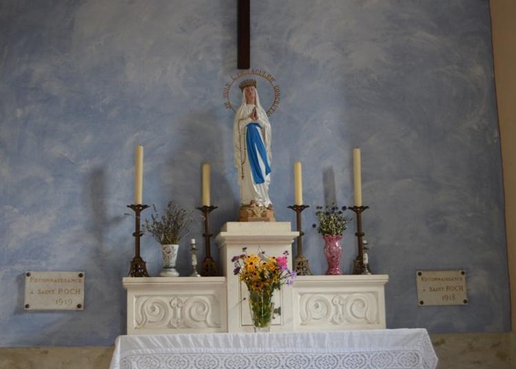 Visite De La Chapelle De Saint Roch à Miribel les Echelles