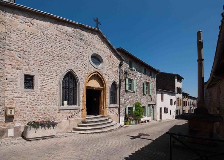 Visite De La Chapelle Des Carriers à Saint Didier au Mont d'Or