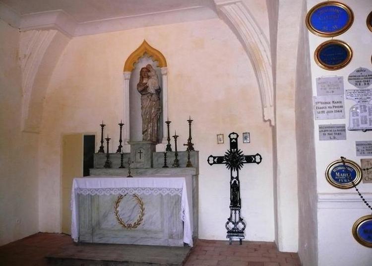 Visite De La Chapelle Notre-dame-de-la-roque à Jouques