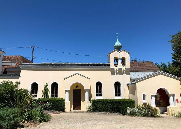 Visite de la chapelle Saint-Georges au Potager du Dauphin à Meudon