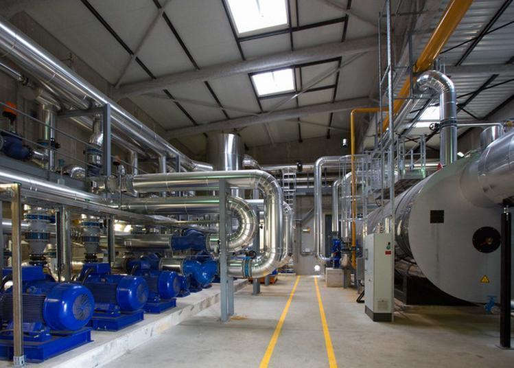 Visite De La Chaufferie Biomasse Des Valendons à Dijon