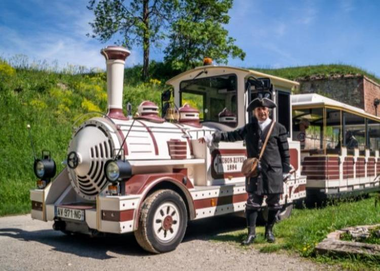 Visite De La Cité Fortifiée De Neuf-brisach En Petit Train à Neuf Brisach
