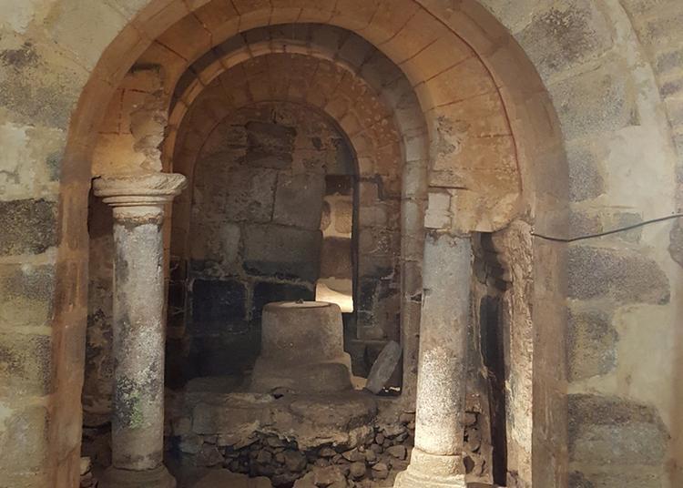 Visite De La Crypte De L'église Notre-dame à La Souterraine