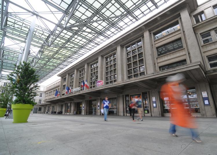 Visite De La Gare D'amiens à Amiens