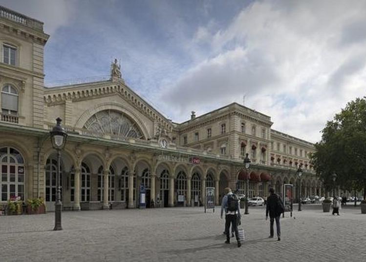 Visite De La Gare De L'est à Paris 10ème