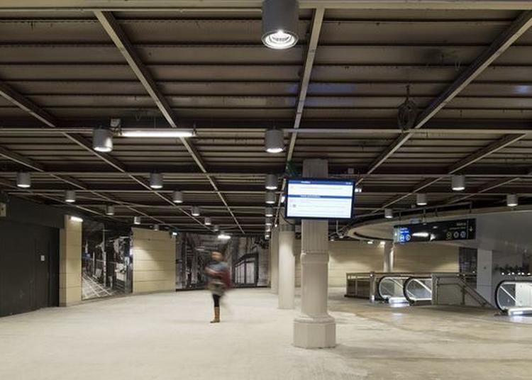 Visite De La Gare Rer C Des Invalides à Paris 7ème