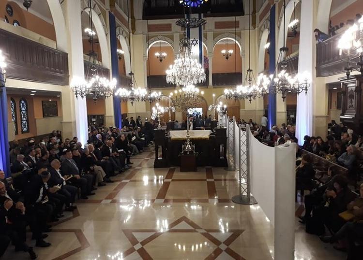 Visite De La Grande Synagogue De Marseille