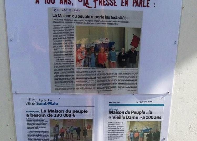 Visite De La Maison Du Peuple, à Saint-malo à Saint Malo